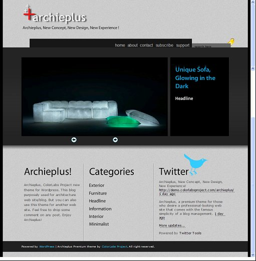 ArchiePlus WordPress Theme