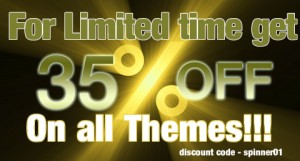 35% Off ThemeSpinner Premium