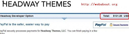 Headway themes Developer License coupon