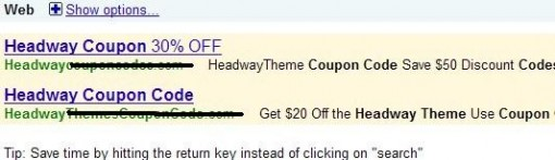 Headway Theme Coupon Code noworking