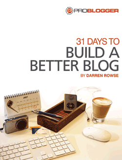 31 Days to Build a Better Blog discount code