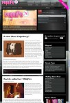 PopLife76 WordPress Music Multimedia Blog Theme