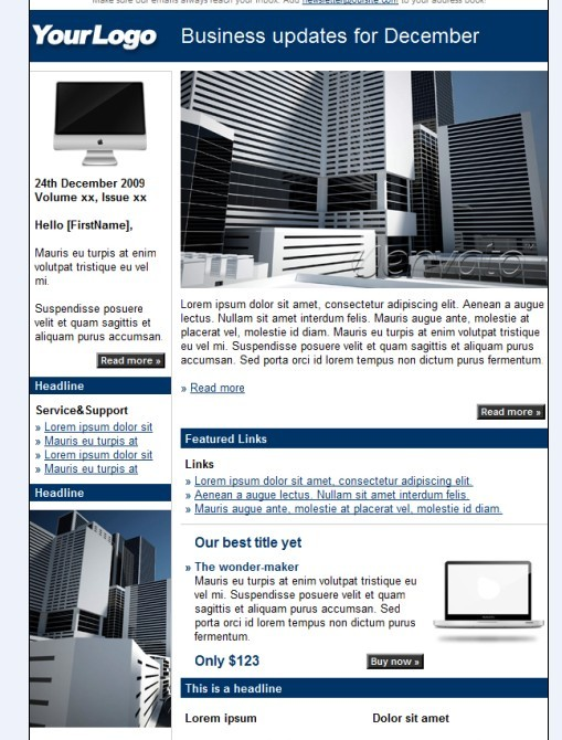 BENk Email Newsletter Template
