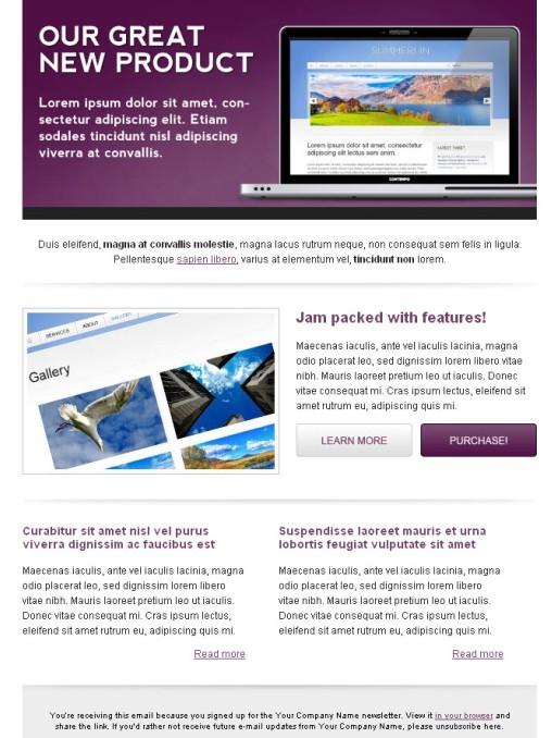 Communiqué Premium Email Template