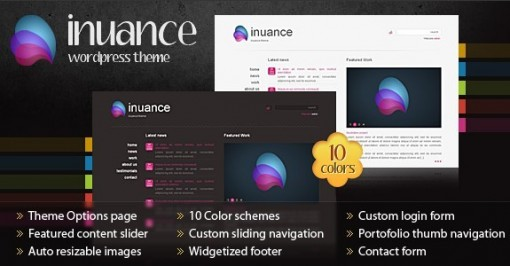 INUANCE WordPress Theme
