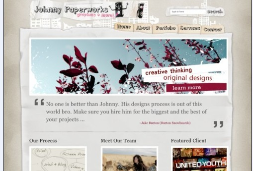 Johnny Paperworks PDS Template