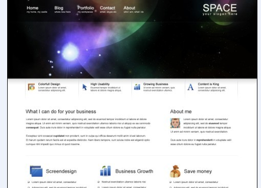 Space Professional PDS Templates