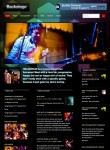 Backstage WordPress Multimedia Theme By WooThemes