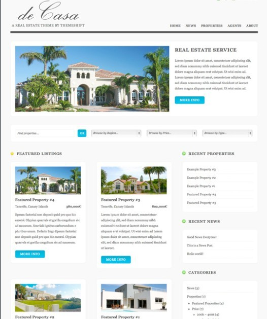 ThemeShift DeCasa WordPress Theme