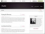 Noble Site Template – Clean & Elegant Site Template