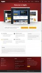 Big Biz WordPress CMS Business Theme By Obox Design