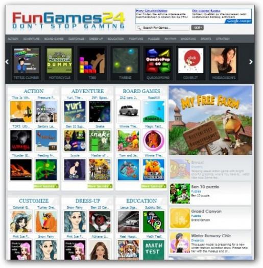 FunGames  Demo