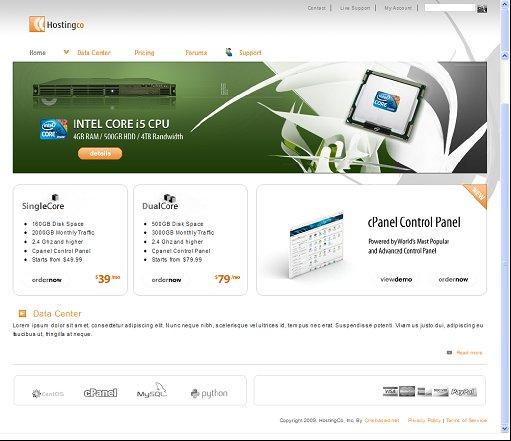 HostingCo Premium Drupal Theme