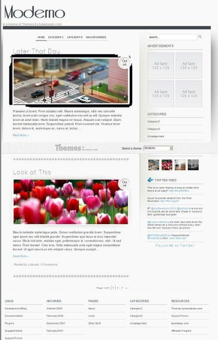 Moderno WordPress Theme