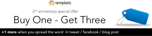 Templatic special offer