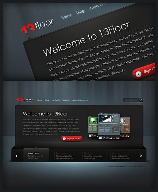 13Floor WordPress Theme