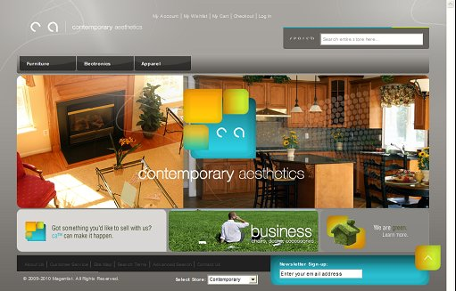 Contemporary Design Magento Theme