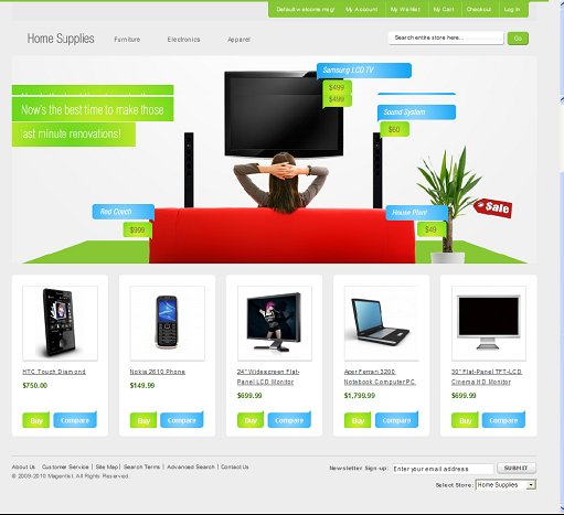 Home Supplies Magento Theme