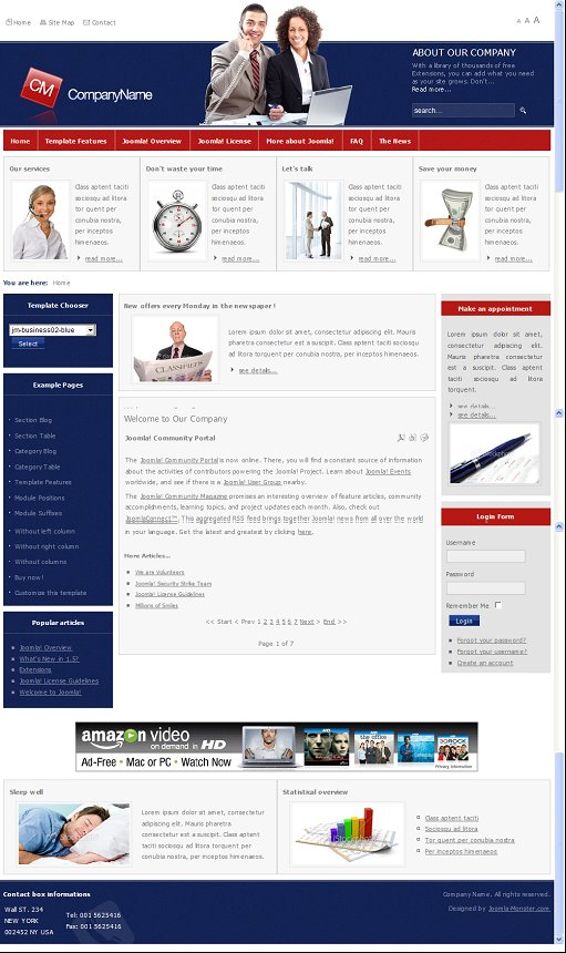JM-Business02 Joomla Template