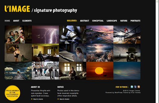 Limage WordPress Theme