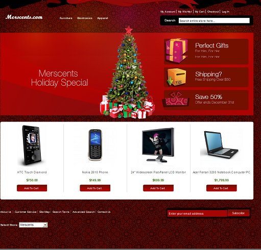 Merry Theme Magento Template