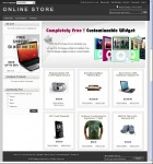 Silver Mage Magento Theme For E-commerce Website