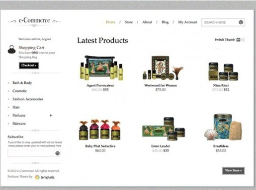 Templatic E-commerce Theme