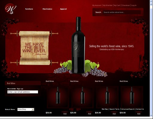 Magentist Wine Shop Magento Theme