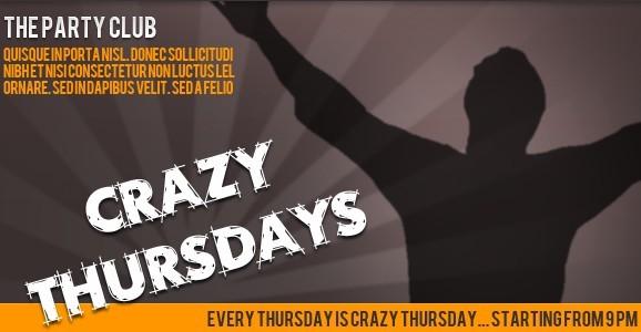 Crazy Thursdays