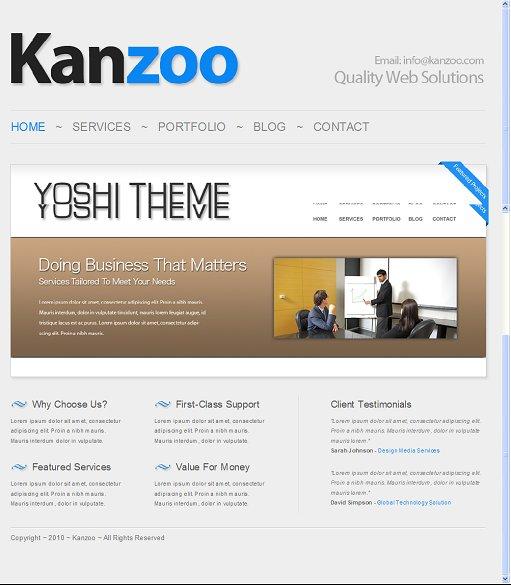 Kanzoo WordPress Theme