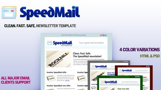 Speed Mail Template