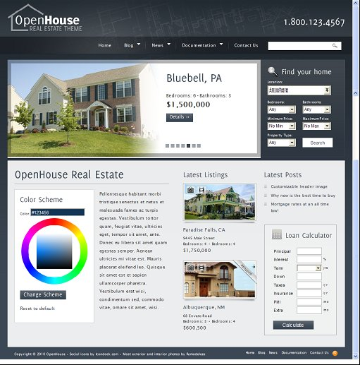 ThemeForest OpenHouse WordPress Theme