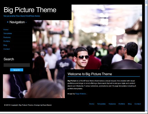Big Picture WordPress Theme