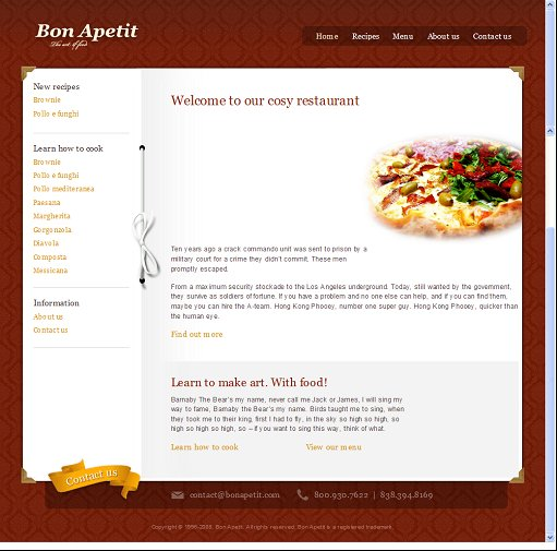 ThemeFuse Bon Apetit WordPress Theme