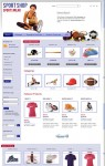 JM Sport Store VirtueMart Joomla Template