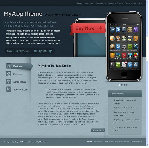 MyApp Premium WordPress Theme
