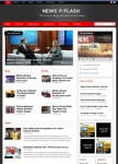 Templatic News Flash Premium Magazine WordPress Theme