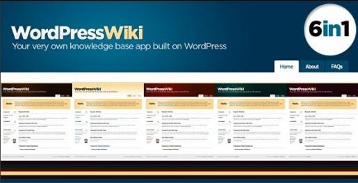 WordPress Wiki Theme
