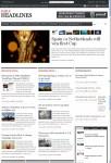 Daily Headlines WordPress Theme, Build Your DailyNews Style Sites