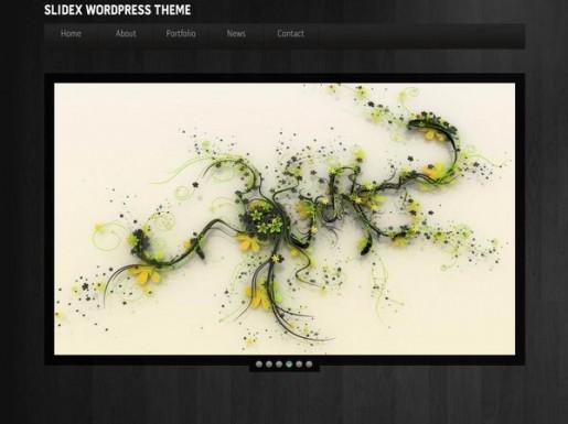 Slidex WordPress Theme