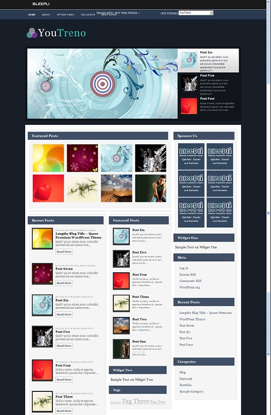 YouTreno WordPress Theme