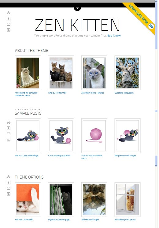 Zen Kitten WordPress Theme