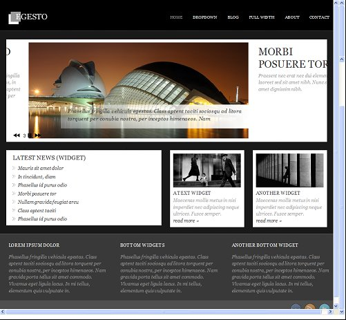 Viva Themes Egesto WordPress Theme