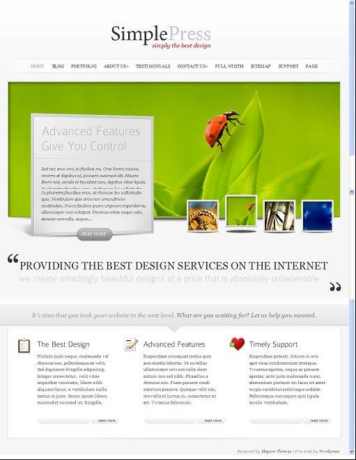 Elegant Themes SimplePress