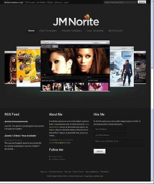 JM Norite Magento Theme