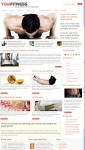 YouJoomla YouFitness WordPress Fitness Theme