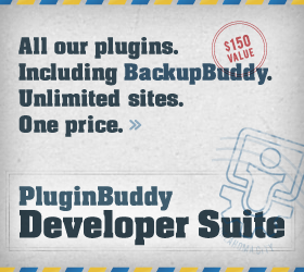 PluginBuddy Developer Suite