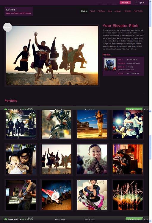 KreativeThemes Capture WordPress Theme