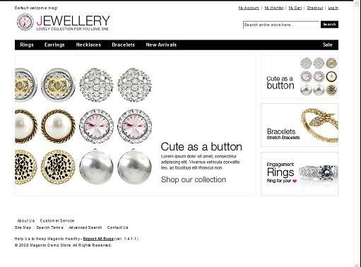 Jewellery Magento Theme