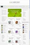 Magazine Style Content Display WordPress Theme : Magnificent